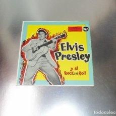 Discos de vinilo: ELVIS PRESLEY Y EL REY DEL ROCK -----VINILO ( VG+) FUNDA MINT ( M+). Lote 215033180