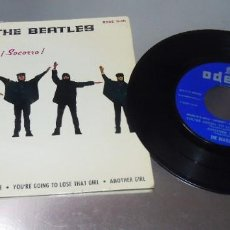 Discos de vinilo: THE BEATLES ----HELP &--THE NIGHT BEFORE & ANOTHER GIRL + 1 VG +++. Lote 215033793