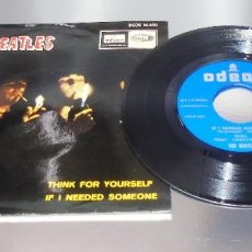 Discos de vinilo: THE BEATLES -- GIRL & NOWHERE MAN & THINK FOR YOURSELF & +1 NEAR MINT ( NM OR M ). Lote 215034735