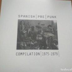 Discos de vinilo: SPANISH PRE PUNK LP COMPILATION (1975-1979) (KAKA DE LUXE-BURNING-BASURA- RAMONCIN ...) ¡¡PRECINTADO. Lote 268887259