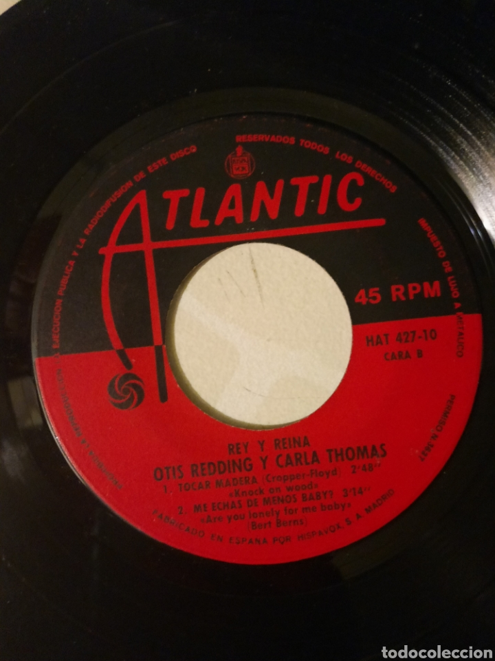 Discos de vinilo: Otis Redding. Vagabundo. EP. - Foto 2 - 215046258