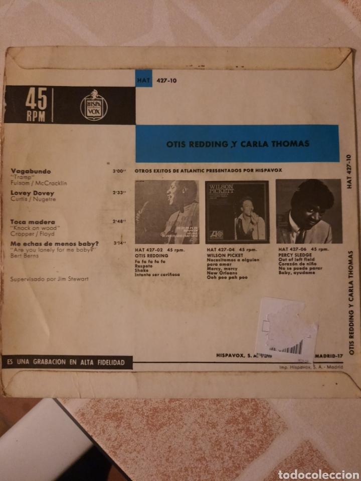 Discos de vinilo: Otis Redding. Vagabundo. EP. - Foto 3 - 215046258