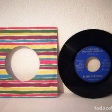 Discos de vinil: SINGLE - GELU III FESTIVAL ESPAÑOL DE LA CANCIÓN BENIDORM 1961 - SOLISTA MUJER - EL AMOR FESTIVAL. Lote 215048052