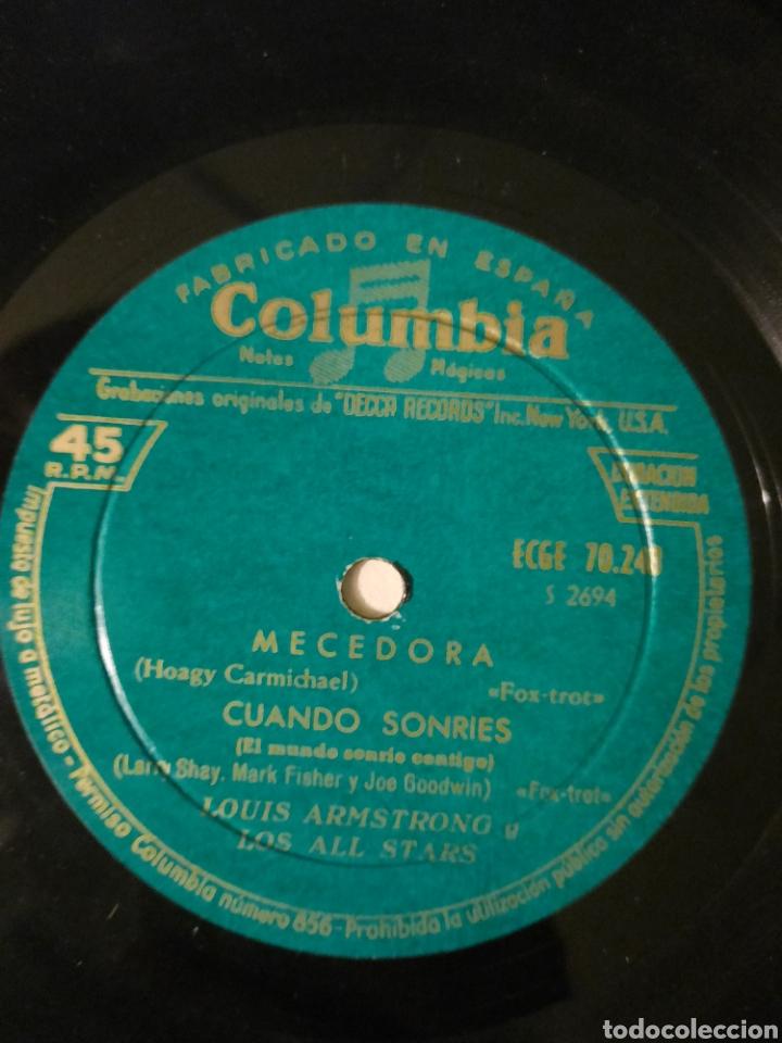 Discos de vinilo: Louis Armstrong. Mecedora. EP. - Foto 2 - 215049868