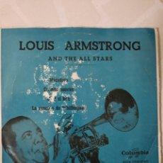 Discos de vinilo: LOUIS ARMSTRONG. MECEDORA. EP.. Lote 215049868