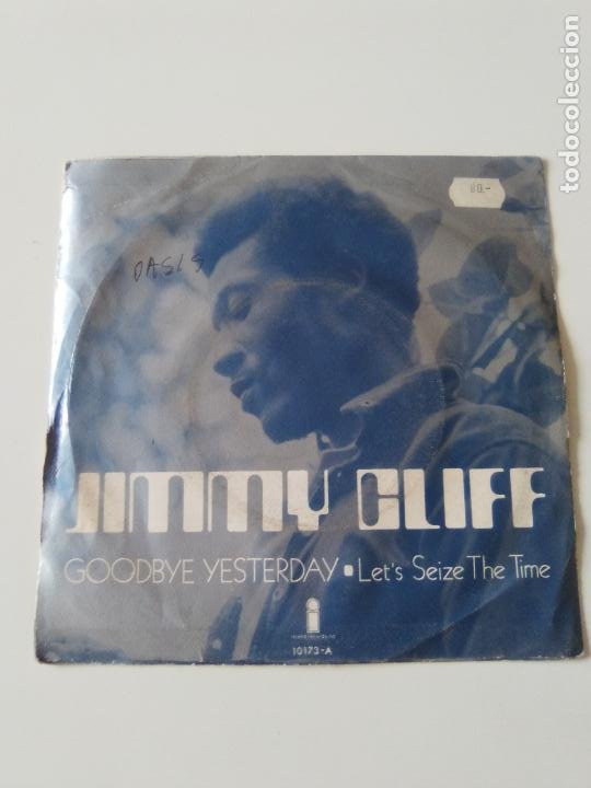 Discos de vinilo: JIMMY CLIFF Goodbye yesterday / Lets seize the time ( 1971 ISLAND ESPAÑA ) - Foto 2 - 215056911
