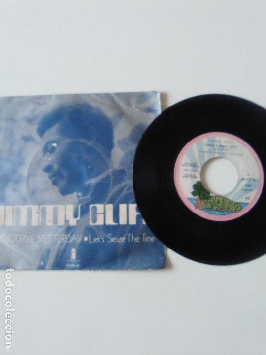 Discos de vinilo: JIMMY CLIFF Goodbye yesterday / Lets seize the time ( 1971 ISLAND ESPAÑA ) - Foto 3 - 215056911