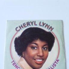 Discos de vinilo: CHERYL LYNN TENGO QUE SER REALISTA GOT TO BE REAL / COME IN FROM THE RAIN ( 1979 CBS ESPAÑA ). Lote 215057200