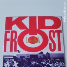 Discos de vinilo: KID FROST LA RAZA / IN THE CITY ( 1990 VIRGIN UK ). Lote 215057757