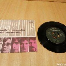 Disques de vinyle: LOS BRAVOS. AMOR Y SIMPATÍA. RUDI ENAMORADO ( SKA, ROCKSTEADY ).. Lote 215063113