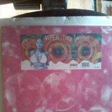 """Discos de vinilo: VIPER - TITTY TWISTER 1997 12"""". Lote 215066707"""