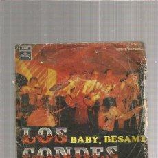 Discos de vinilo: LOS CONDES BESAME. Lote 215072473