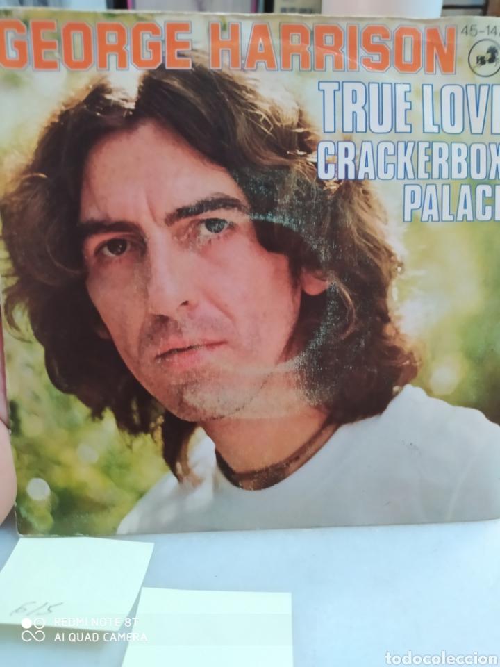 GEORGE HARRISON SINGLE SELLO HISPA VOX AÑO 1976 (Música - Discos de Vinilo - Maxi Singles - Pop - Rock Extranjero de los 70)