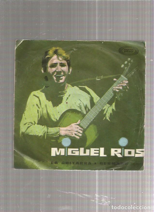 MIGUEL RIOS LA GUITARRA GERMANS (Música - Discos de Vinilo - EPs - Solistas Españoles de los 50 y 60)