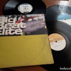 Discos de vinilo: BIG BEAT ELITE- 3 LP - LACERBA ?– CERBAL 03-UK-1997-. Lote 215078645