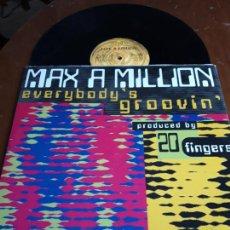 Dischi in vinile: MAX A MILLION* – EVERYBODY'S GROOVIN'-MAX MUSIC – NM1370MX-MAXI-ESPAÑA-1996-. Lote 215079980