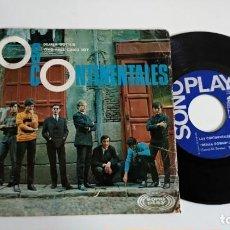 Discos de vinilo: SINGLE-LOS CONTINENTALES-DEJALA DORMIR-1967-SPAIN-BUEN ESTADO VINILO CON ALGUNAS MARCAS-. Lote 215082112