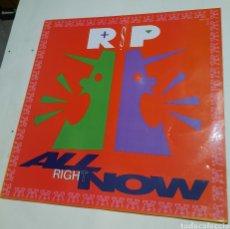 Discos de vinilo: R. S. P. - ALL RIGHT NOW. Lote 215086406