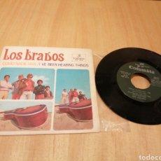 Disques de vinyle: LOS BRAVOS. COMO NADIE MÁS. I'VE BEEN HEARING THINGS.. Lote 215097838