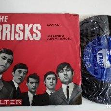Discos de vinilo: SINGLE-THE BRISKS-ACCION-1965-SPAIN-EXCELENTE CONDICIONES-. Lote 215103016