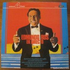 Discos de vinilo: EDMUNDO ROS- EN DIRECTO 1974. Lote 215111141