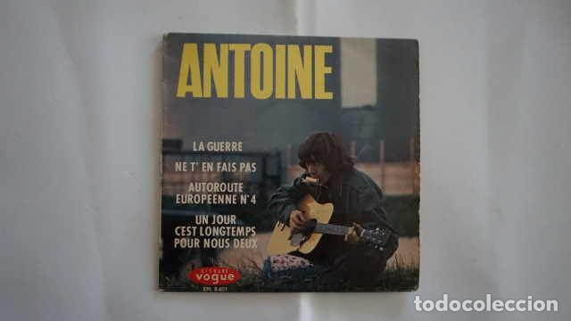 ANTOINE LA GUERRE, DISQUES VOGUE EPL 8401, MADE IN FRANCE (Música - Discos - Singles Vinilo - Canción Francesa e Italiana)