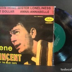 Discos de vinilo: GENE VINCENT I`M GOIN HOME + 3 EP SPAIN PEPETO TOP. Lote 215124445