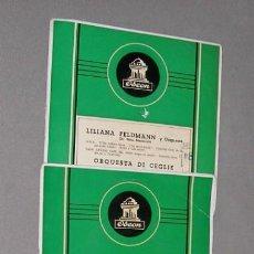 Discos de vinilo: SINGELS DE VARIAS ORQUESTAS AÑOS 50 DE LA CASA ODEON. Lote 215133880