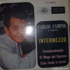 Discos de vinilo: CARLOS CAMPOS Y SU ORQUESTA INTERMEZZO LATIN MAMBO CHA CHA 60'S RARO ORIGINAL MEXICO 1968 NM. Lote 215144350