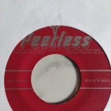 Discos de vinilo: LOS BLACK JEANS LA BATALLA DE JERICO / LA CUCARACHA LATIN R'N'R MUY RARO ORIGINAL MEXICO 196? VG+. Lote 215146615