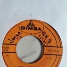 Discos de vinilo: LOCOS DEL RITMO CHICA ALBOROTADA/AVIENTENSE TODOS KILLER VERSION LATIN R'N'R ORIGINAL MEXICO 1961 VG. Lote 215147125