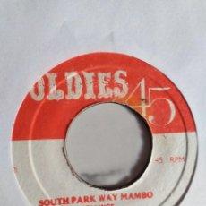 Discos de vinilo: BOB A LOOS SOUTH PARK WAY MAMBO / TEACH ME TONIGHT LATIN JAZZ MAMBO REISSUE JAMAICA ?? VG+. Lote 215147738