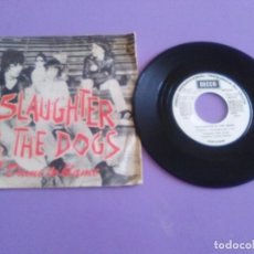Discos de vinil: JOYA SINGLE PROMOCIONAL PUNK 1977. SLAUGHTER AND THE DOGS/ DAME TO BLAME/JOHNNY T. DECCA MO 1767. Lote 215178908