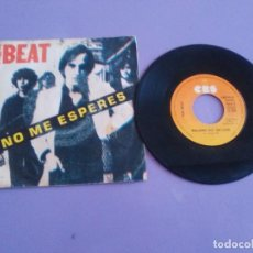 Discos de vinilo: SINGLE.PUNK POWERPOP. THE BEAT - NO ME ESPERES -1979 RARA PORTADA UNICA SPAIN -PAUL COLLINS.CBS 8135. Lote 215181060