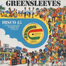 Discos de vinilo: JOHNNY CLARKE - JAH LOVE IS WITH I / BAD DAYS ARE GOING - 12'' [GREENSLEEVES RECORDS, 2018]. Lote 215187516