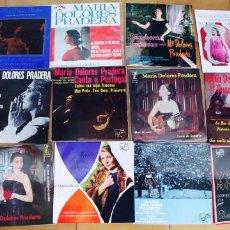 Discos de vinilo: MARIA DOLORES PRADERA-LOTE DE 12 EPS. Lote 215195270