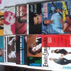 Discos de vinilo: LOTE DE 10 SINGLES Y EPS DE CANCIÓN FRANCESA E ITALIANA, VER FOTOS. Lote 215197832