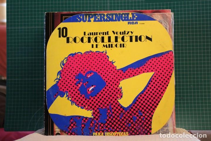 LAURENT VOULZY - ROCKOLLECTION - RCA PC-8066 - 1977 (Música - Discos de Vinilo - Maxi Singles - Canción Francesa e Italiana)