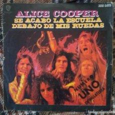 Dischi in vinile: ALICE COOPER - SE ACABÓ LA ESCUELA ( SCHOOLS´S OUT) - HISPAVOX 1972. Lote 215232157