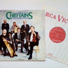 Discos de vinilo: LP: A CHIEFTAINS CELEBRATION (RCA VICTOR, 1989) - VAN MORRISON, MILLADOIRO, CIARÁN MORDAUNT,... -. Lote 215239316
