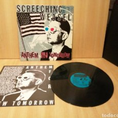 Disques de vinyle: SCREECHING WEASEL. ANTHEM FOR A NEW TOMORROW.. Lote 215264503