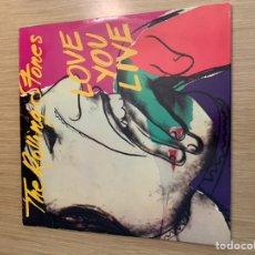 Discos de vinilo: THE ROLLING STONES DOBLE DISCO LOVE YOU LIVE. Lote 215274025