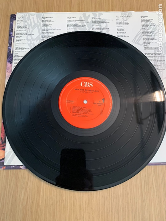Discos de vinilo: New Kids on the Block disco Step by Step - Foto 3 - 215274302