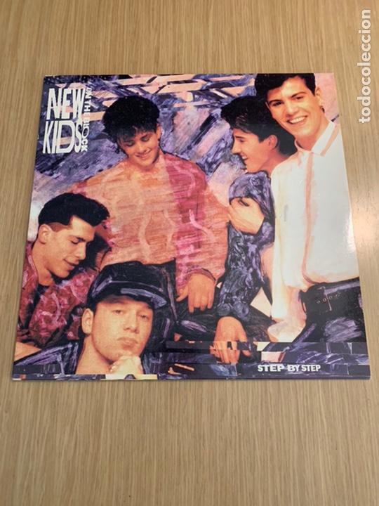 NEW KIDS ON THE BLOCK DISCO STEP BY STEP (Música - Discos - LP Vinilo - Pop - Rock Extranjero de los 90 a la actualidad)