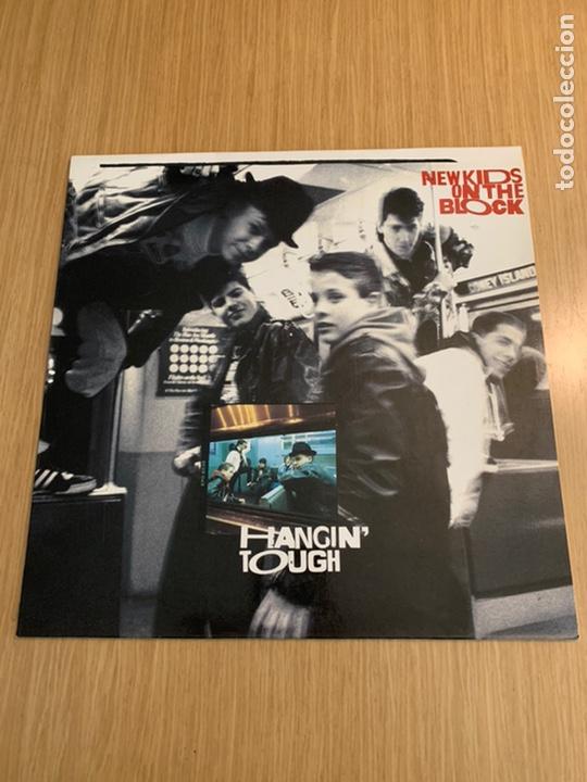 NEW KIDS ON THE BLOCK DISCO HANGIN' TOUCH (Música - Discos - LP Vinilo - Pop - Rock Extranjero de los 90 a la actualidad)