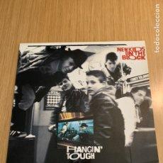 Discos de vinilo: NEW KIDS ON THE BLOCK DISCO HANGIN' TOUCH. Lote 215274505