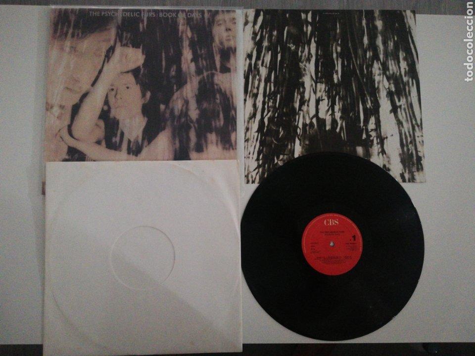 VINILO EDICIÓN ESPAÑOLA DEL LP DE PSYCHEDELIC FURS BOOK OF DAYS (Música - Discos - LP Vinilo - Pop - Rock - New Wave Internacional de los 80)