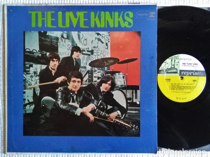 "THE KINKS - "" THE LIVE KINKS "" LP MONO USA 1967 (Música - Discos - LP Vinilo - Pop - Rock Extranjero de los 50 y 60)"