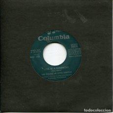 Disques de vinyle: LOS BRAVOS / LOVE IS A SYMPHONY / GREAT IS OUR LOVE (SINGLE 1968). Lote 215286305