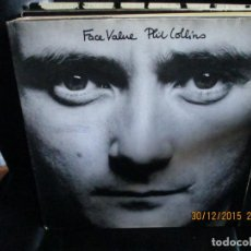 Discos de vinilo: PHIL COLLINS ?– FACE VALUE. Lote 215286536